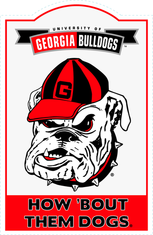 Georgia Bulldogs NCAA Sign