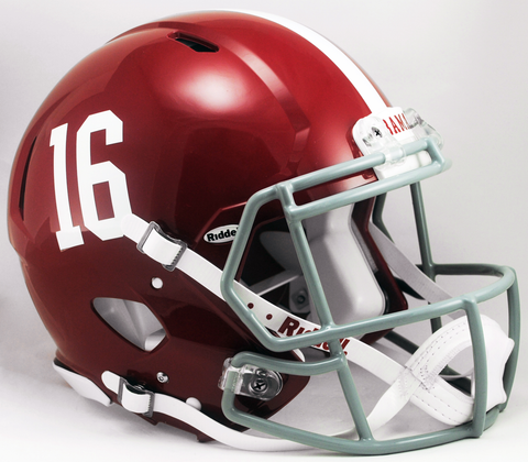 Alabama Crimson Tide Speed Football Helmet #16