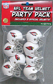 Arizona Cardinals Gumball Party Pack Helmets