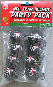 Houston Texans Gumball Party Pack Helmets