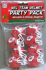 Kansas City Chiefs Gumball Party Pack Helmets