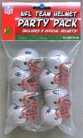 New England Patriots Gumball Party Pack Helmets