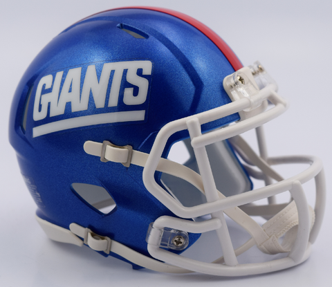 New York Giants NFL Mini Speed Football Helmet <B>2017 Color Rush</B>