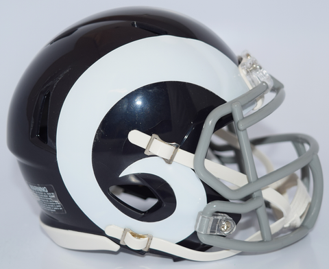 St. Louis Rams NFL Mini Speed Football Helmet <B>2016 Color Rush Discontinued</B>