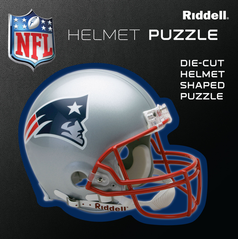 New England Patriots Helmet Puzzle 100 Pieces Riddell