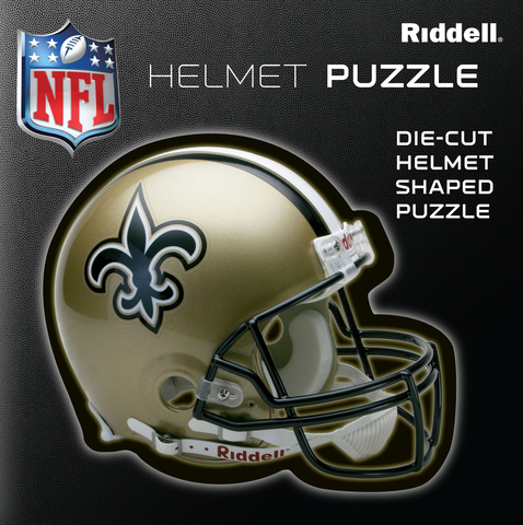 New Orleans Saints Helmet Puzzle 100 Pieces Riddell