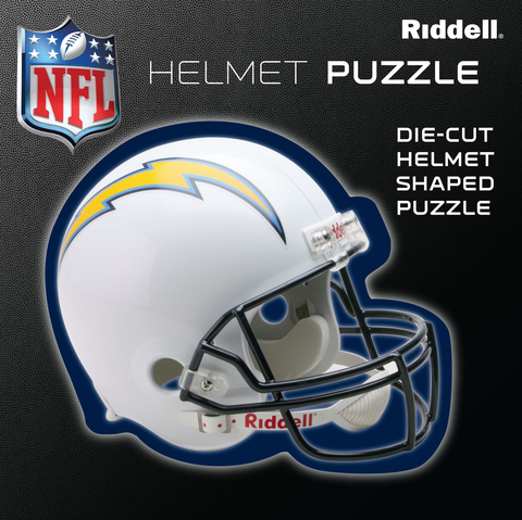 San Diego Chargers Helmet Puzzle 100 Pieces Riddell