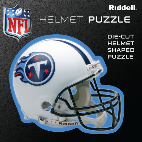 Tennessee Titans Helmet Puzzle 100 Pieces Riddell
