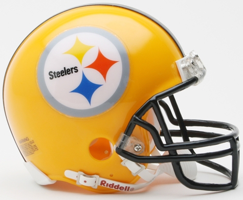 Pittsburgh Steelers 1962 Riddell Mini Replica Throwback Helmet 75th Anniversary