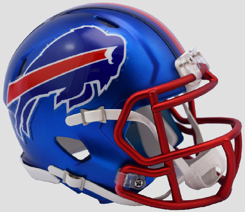 Buffalo Bills  BLAZE Speed Mini Football Helmet <B>2017 BLAZE</B>