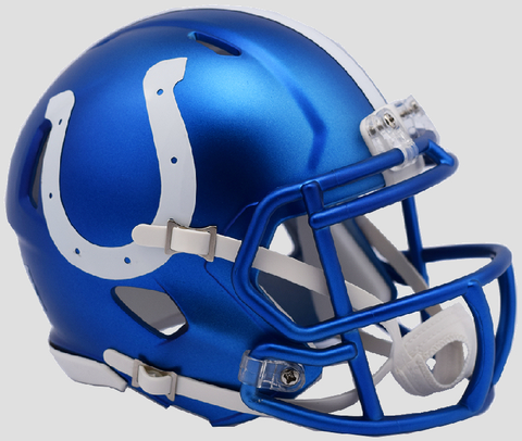 Indianapolis Colts  BLAZE Speed Mini Football Helmet <B>2017 BLAZE</B>