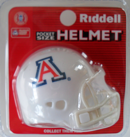 Arizona Wildcats Pocket Pro Riddell <B>White</B>