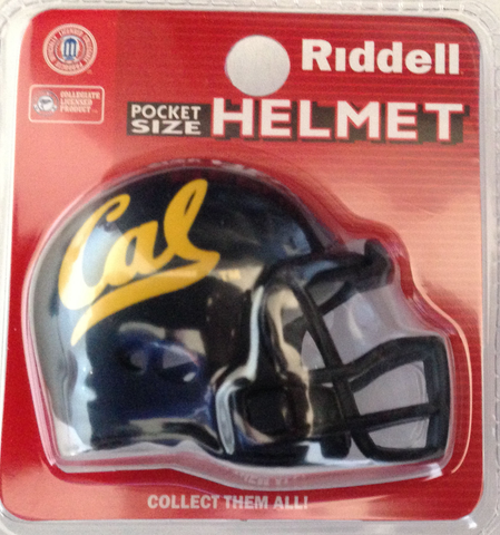 California (CAL) Golden Bears Pocket Pro Riddell