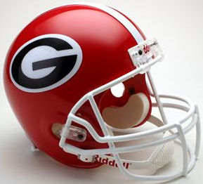 Georgia Bulldogs Full Size Replica Football Helmet