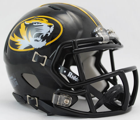 Missouri Tigers NCAA Mini Speed Football Helmet