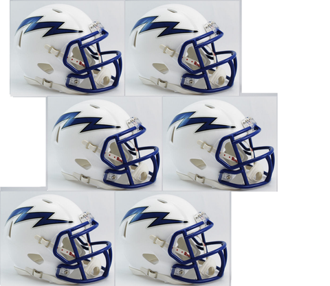Air Force Falcons NCAA Mini Speed Football Helmet 6 count