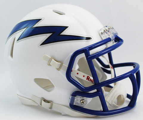 Air Force Falcons NCAA Mini Speed Football Helmet