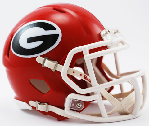 Georgia Bulldogs NCAA Mini Speed Football Helmet