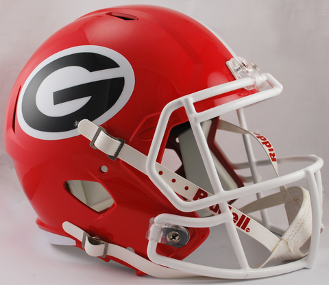 Georgia Bulldogs Speed Replica Football Helmet