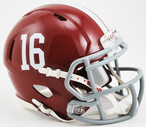 Alabama Crimson Tide NCAA Mini Speed Football Helmet #16