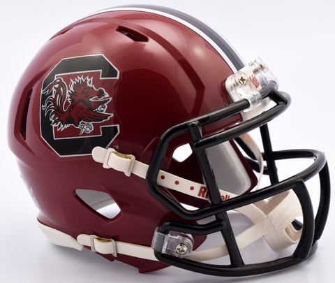 South Carolina Gamecocks NCAA Mini Speed Football Helmet <B>NEW 2016</B>