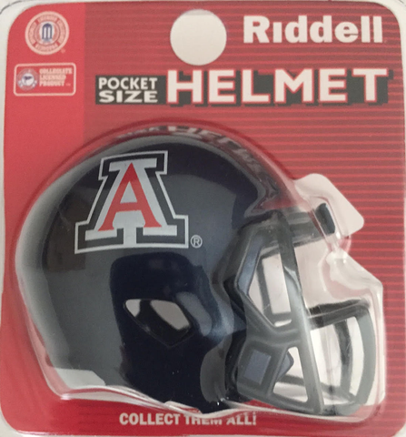 Arizona Wildcats Pocket Pro Riddell <B>Blue</B>