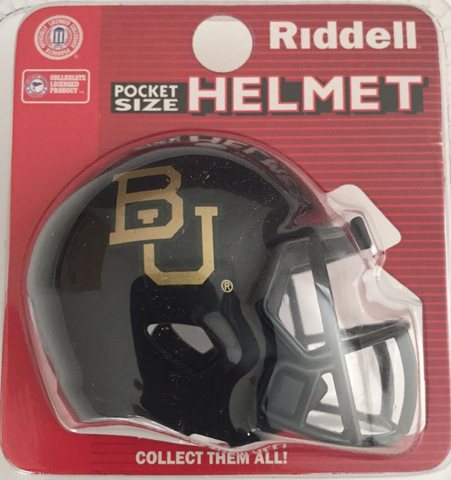 Baylor Bears Pocket Pro Riddell <B>Black</B>