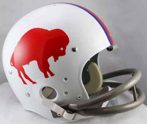 Buffalo Bills 1965 to 1973 TK Throwback Football Helmet