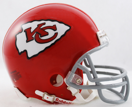 Kansas City Chiefs 1963 to 1973 Riddell Mini Replica Throwback Helmet