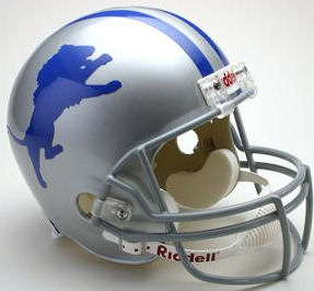 Detroit Lions 1962 to 1968 Full Size Replica Throwback Helmet