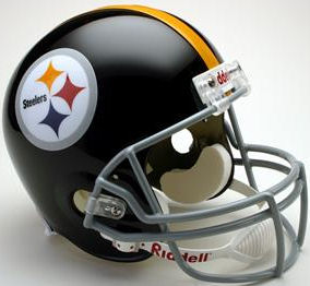 Pittsburgh Steelers 1963 to 1976 Full Size Replica Throwback Helmet