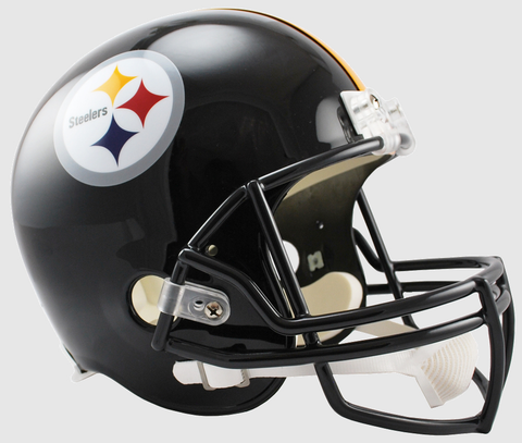 Pittsburgh Steelers Full Size Replica Football Helmet
