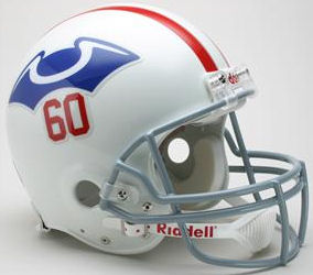 New England Patriots 1960 Football Helmet