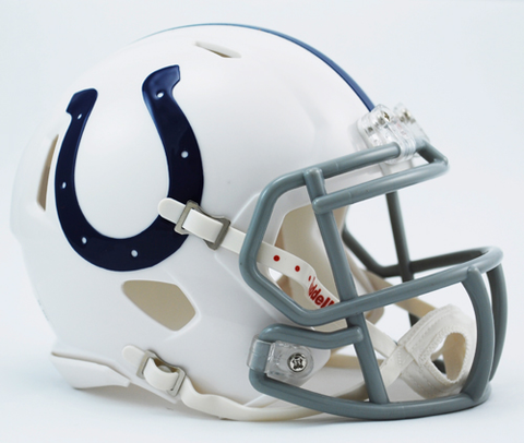 Indianapolis Colts NFL Mini Speed Football Helmet