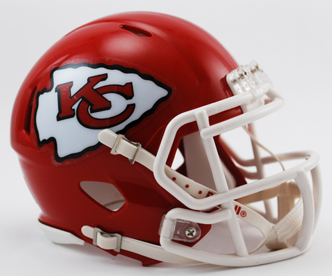 Kansas City Chiefs NFL Mini Speed Football Helmet