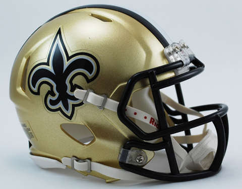 New Orleans Saints NFL Mini Speed Football Helmet