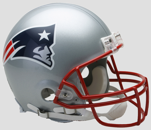 New England Patriots Authentic Football Helmet