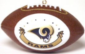 St. Louis Rams Ornaments Football