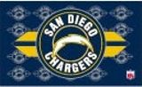 San Diego Chargers Endzone Flag