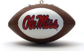 Mississippi (Ole Miss) Rebels Ornaments Football