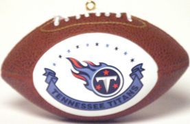Tennessee Titans Ornaments Football