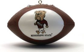 Mississippi State Bulldogs Ornaments Football