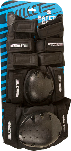 BULLET ADULT-SM COMBO KNEE/ELBOW/WRIST BLK