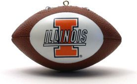 Illinois Fighting Illini Ornaments Football
