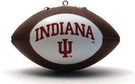 Indiana Hoosiers Ornaments Football