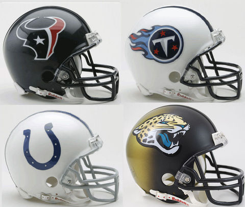 Houston Texans, Tennessee Titans, Indianapolis Colts, Jacksonville Jaguars AFC South Division