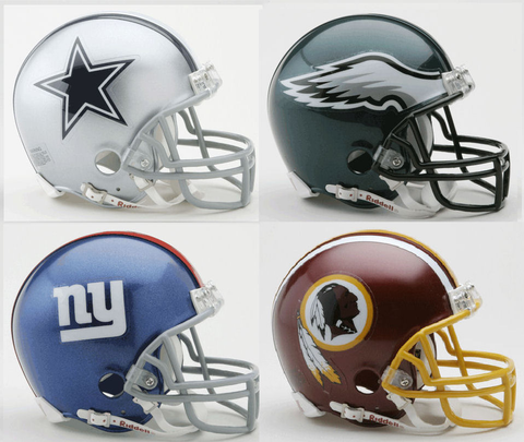 Dallas Cowboys, Philadelphia Eagles, New York Giants, Washington Redskins NFC East Division