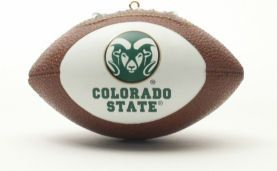 Colorado State Rams Ornaments Football