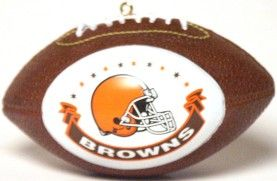 Cleveland Browns Ornaments Football