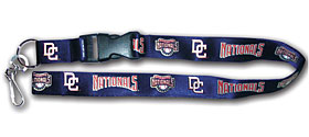 Washington Nationals MLB Lanyard
